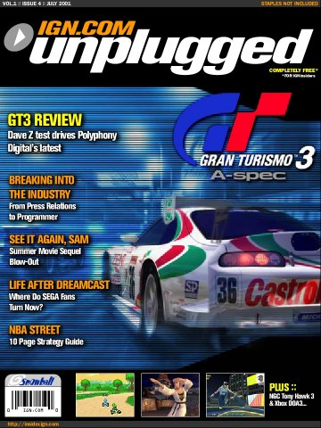 IGN Unplugged Issue 04 (July 2001)
