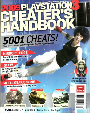 2009 PS3 Cheater's Handbook