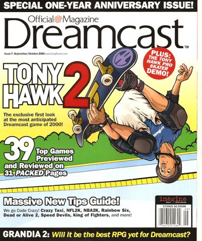 Official Sega Dreamcast Magazine Issue 007 (September-October 2000)