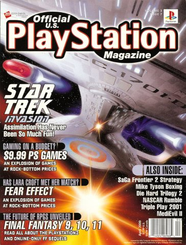 Official U.S. PlayStation Magazine Issue 031 (April 2000)