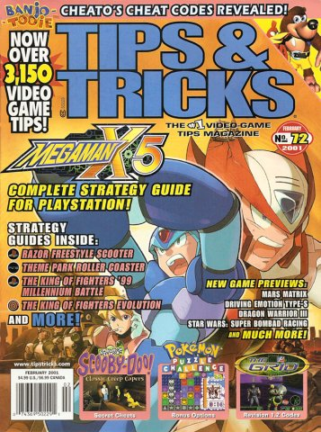 Tips & Tricks Issue 072 February 2001