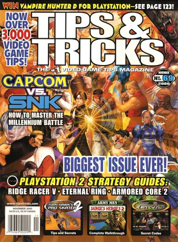 Tips & Tricks Issue 069 November 2000