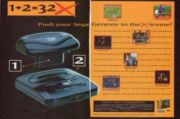 Sega Genesis 32X system