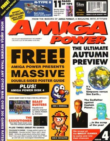 Amiga Power No. 4 - Aug 1991