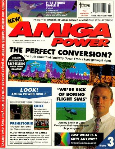 Amiga Power No. 3 - Jul 1991