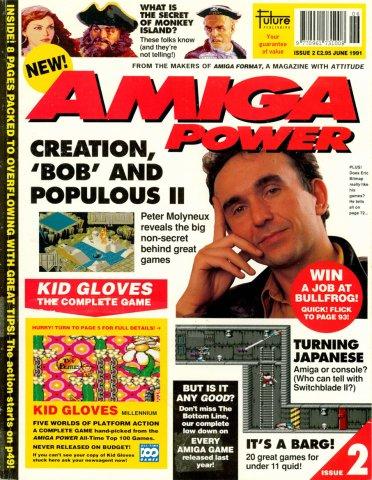 Amiga Power No. 2 - Jun 1991