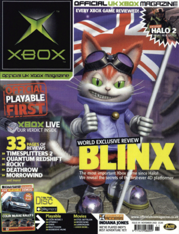 Official UK Xbox Magazine Issue 09 - November 2002