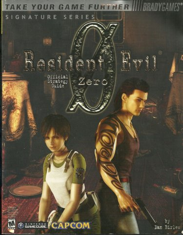 Resident Evil 0 Official Strategy Guide