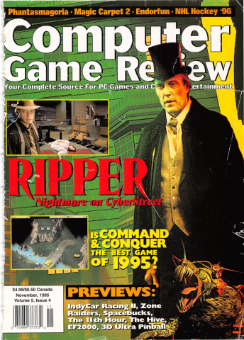 Computer Game Review Issue 52 (November 1995)
