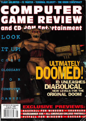 Computer Game Review Issue 49 (August 1995)