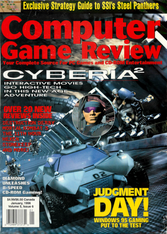 Computer Game Review Issue 54 (January 1996)