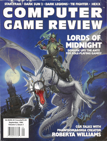 Computer Game Review Issue 38 (September 1994)