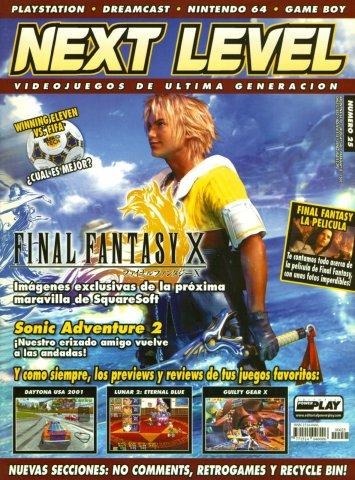 Next Level 25 February 2001