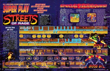 Super Play Coverage of Streets of Rage from EGM 30