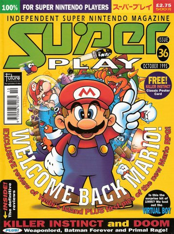 Super Play Issue 36 (October 1995)