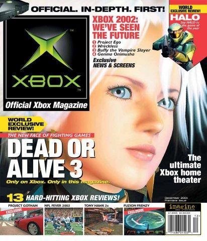 Official Xbox Magazine 001 December 2001