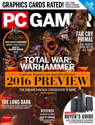 PC Gamer Issue 276 March 2016