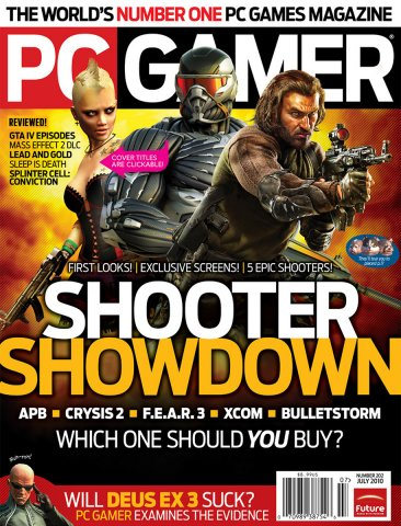 PC Gamer Issue 202 July 2010