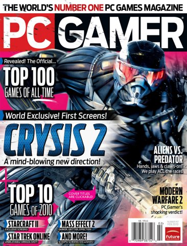 PC Gamer Issue 197 February 2010