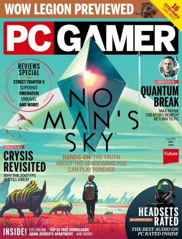 PC Gamer Issue 278 May 2016