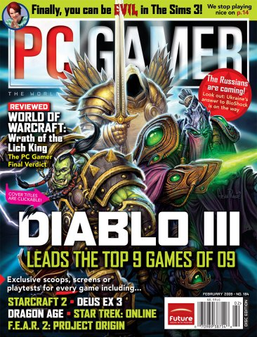 PC Gamer Issue 184 February 2009