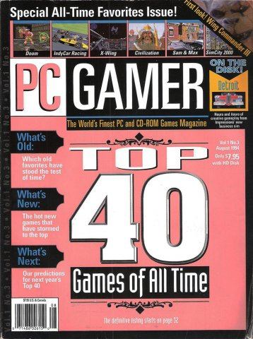 PC Gamer Issue 003 August 1994