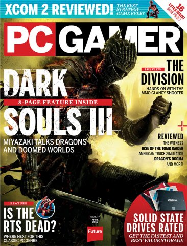 PC Gamer Issue 277 April 2016