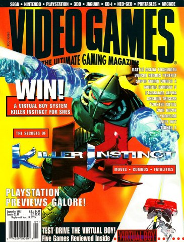 Video Games Issue 80 September 1995