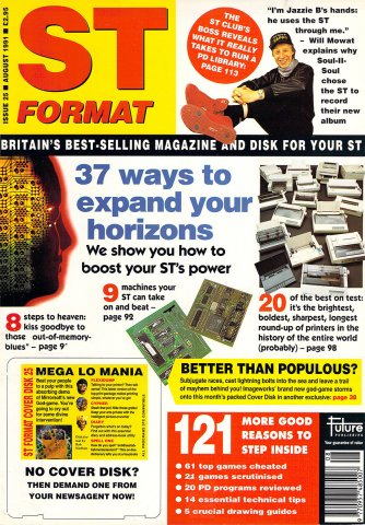 ST Format Issue 025 August 1991