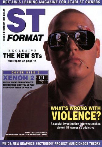 ST Format Issue 003 Oct 1989