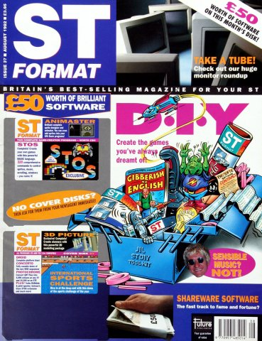 ST Format Issue 037 August 1992