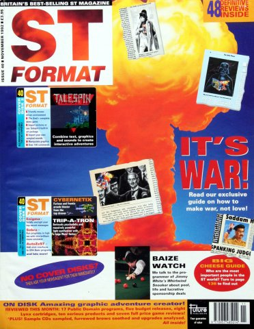 ST Format Issue 040 November 1992