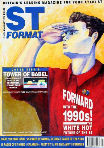 ST Format Issue 006 Jan 1990