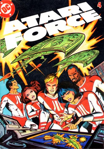 Atari Force mini comic 04 (1982)