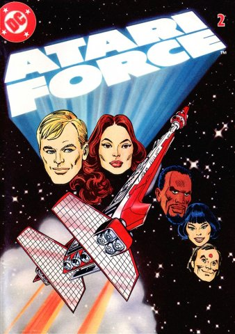 Atari Force mini comic 02 (1982)