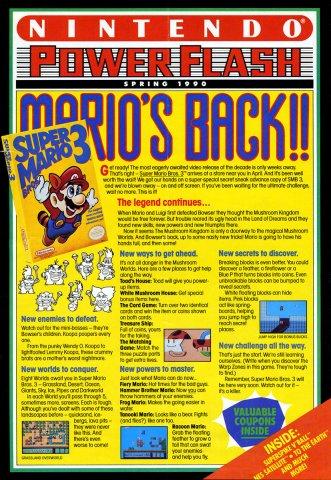 Nintendo Power Flash 07 (Spring 1990)