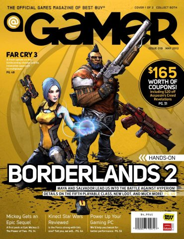 @Gamer Issue 019 (May 2012 cover 1)