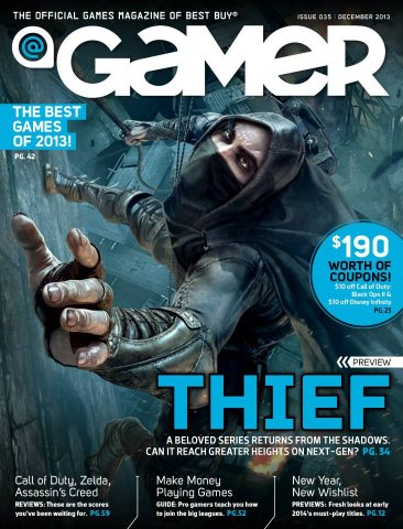 @Gamer Issue 035 (December 2013)