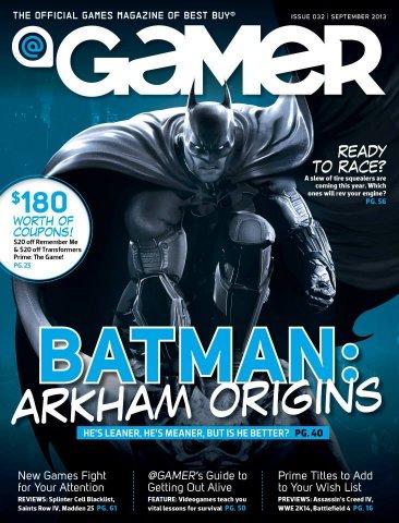 @Gamer Issue 032 (September 2013)