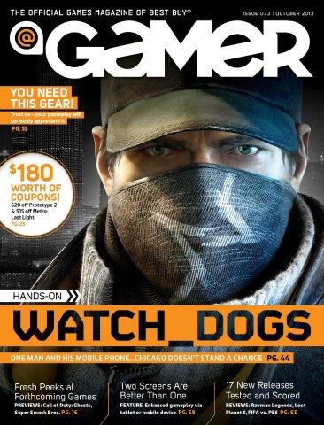 @Gamer Issue 033 (October 2013)
