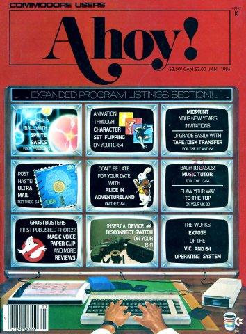 Ahoy! Issue 013 January 1985