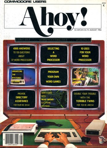Ahoy! Issue 008 August 1984