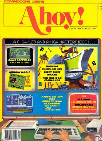 Ahoy! Issue 038 February 1987