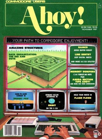 Ahoy! Issue 047 November 1987