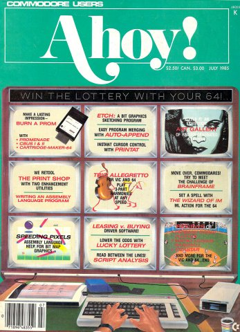 Ahoy! Issue 019 July 1985