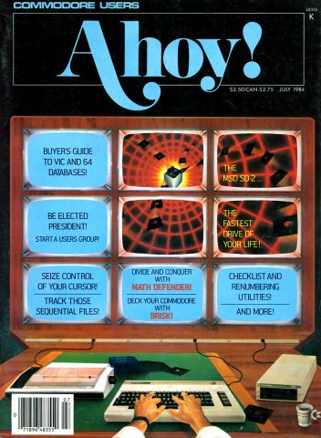 Ahoy! Issue 007 July 1984