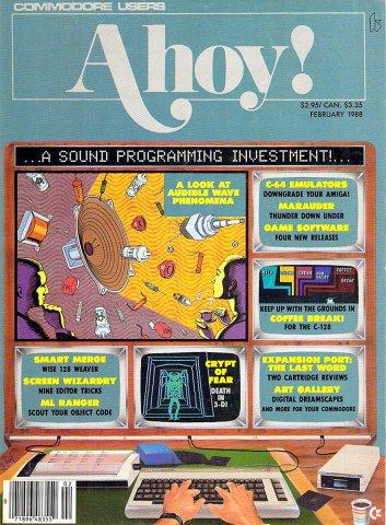 Ahoy! Issue 050 February 1988