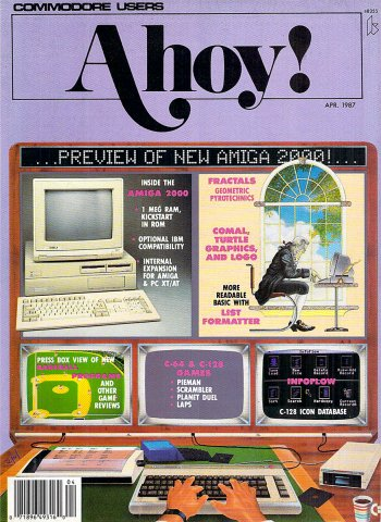 Ahoy! Issue 040 April 1987
