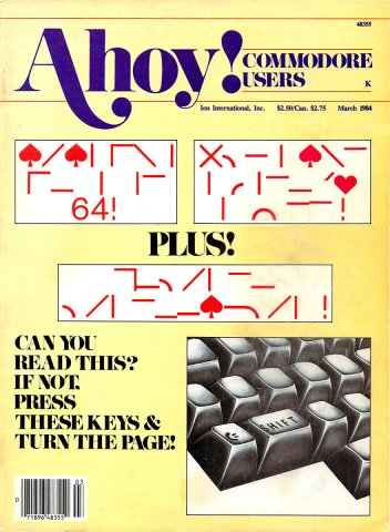 Ahoy! Issue 003 March 1984