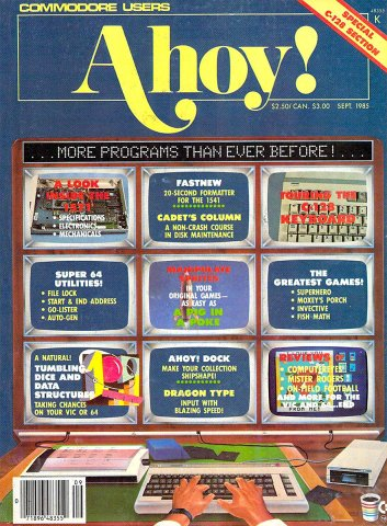 Ahoy! Issue 021 September 1985